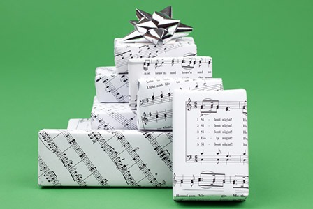 pacchetto regalo musicale