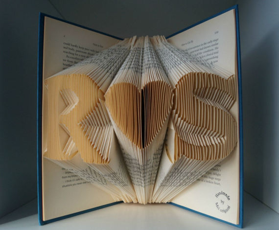 libro origami idea regalo anniversario