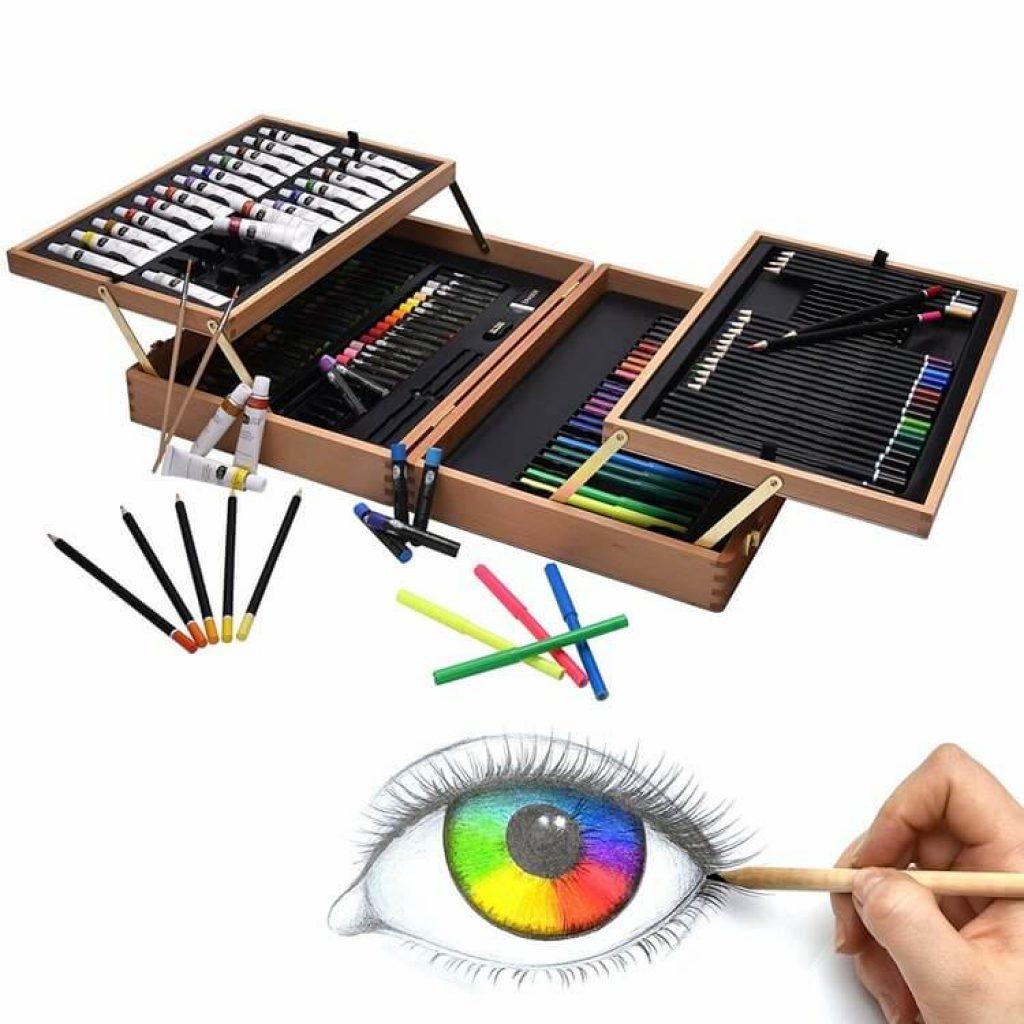 set colori assortiti idea regalo prima comunione