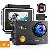 APEMAN 4K Action Cam Wi-Fi 20MP Ultra...
