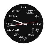 Orologio Parete in Acrilico Matematico...