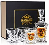 KANARS Bottiglie e Bicchieri whisky,...