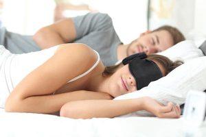 maschera per sonno hibermate