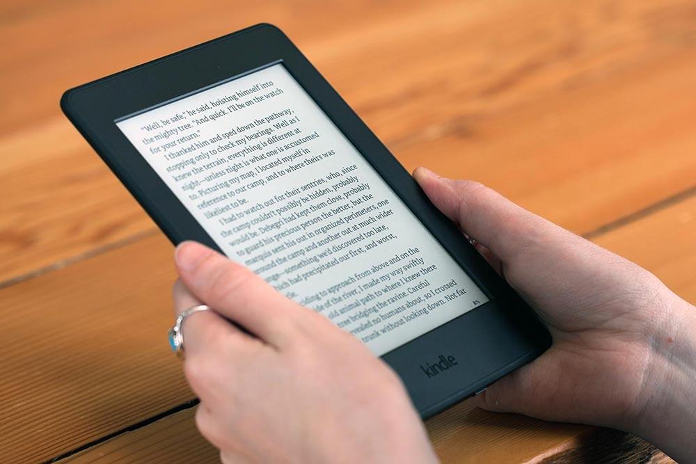 lettore e-book