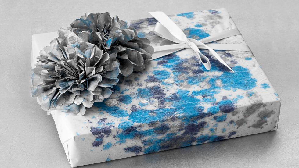 pacchetto regalo artistico