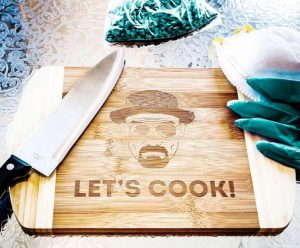 idee regalo uomo tagliere breaking bad