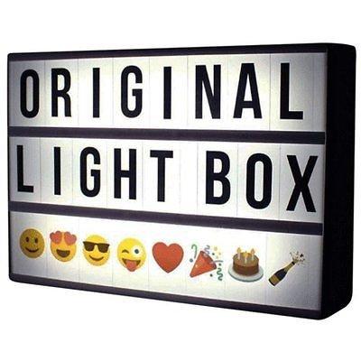 insegna luminosa cinema light box