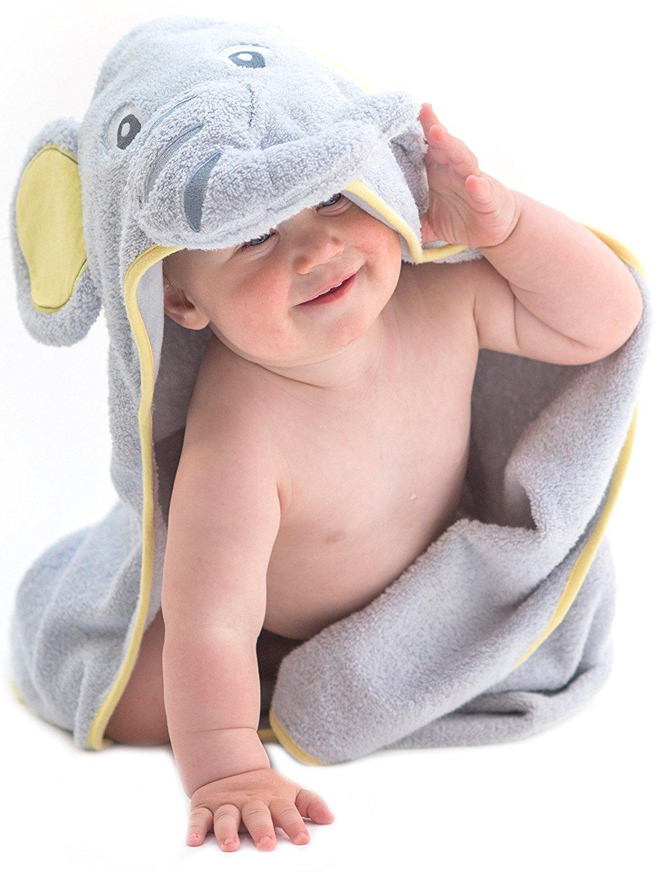 asciugamano elefante idea regalo battesimo bimbo
