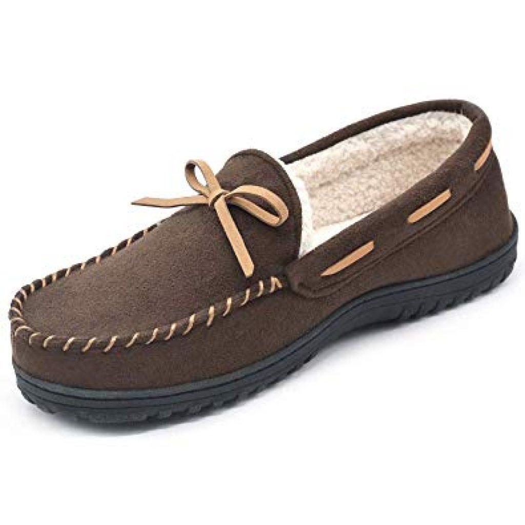 pantofole mocassino