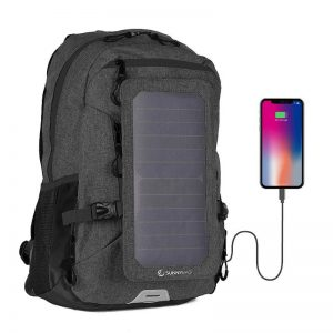 zaino con pannello solare integrato