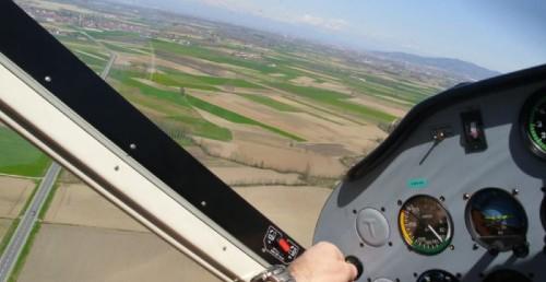 volo panoramico in aeroplano torino