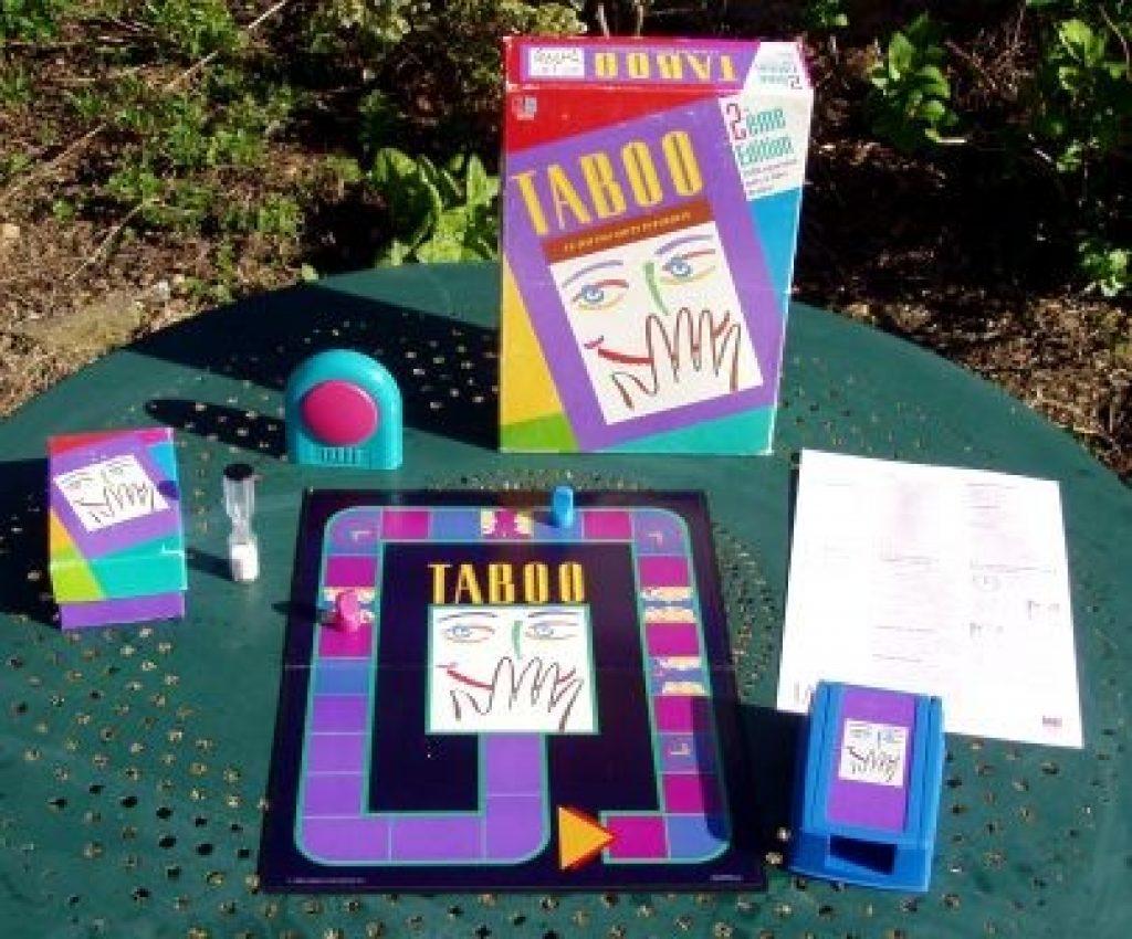 taboo gioco di societa